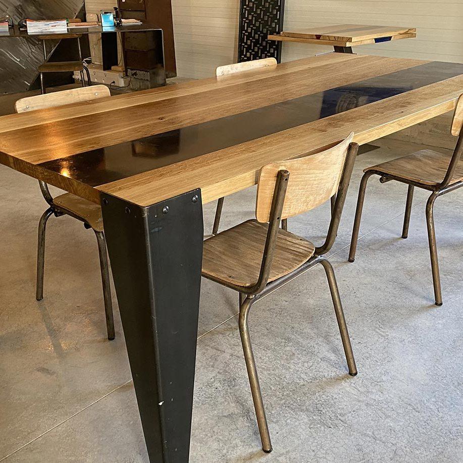 Faites concevoir votre mobilier métallique par notre société | Ferronnerie Divol Sylvain